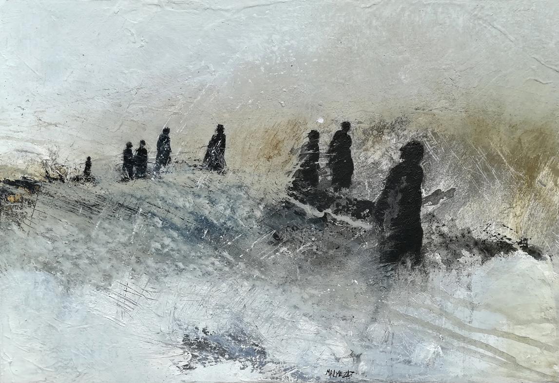 Le travail d'Isabelle Malmezat
